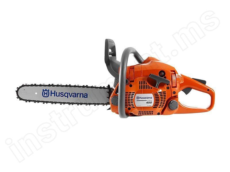 Бензопила Husqvarna 450 E 9671569-75 купить в . Цена – 24 990₽, в наличии в интернет-магазине Инструмент