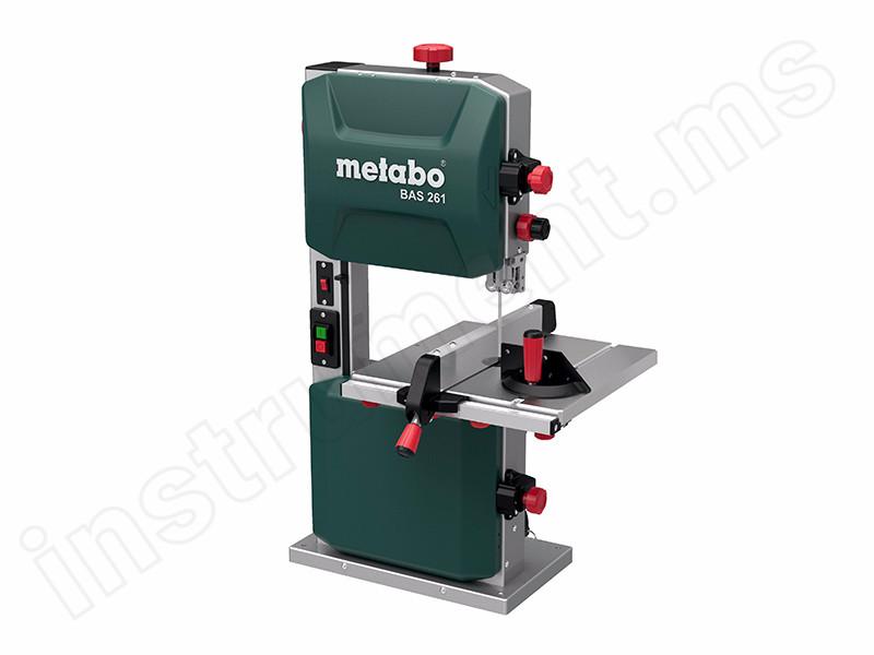 Станок деревообрабатывающий ленточнопильный Metabo BAS 261 Precision 619008000 купить в . Цена – 27 099₽, в наличии в интернет-магазине Инструмент