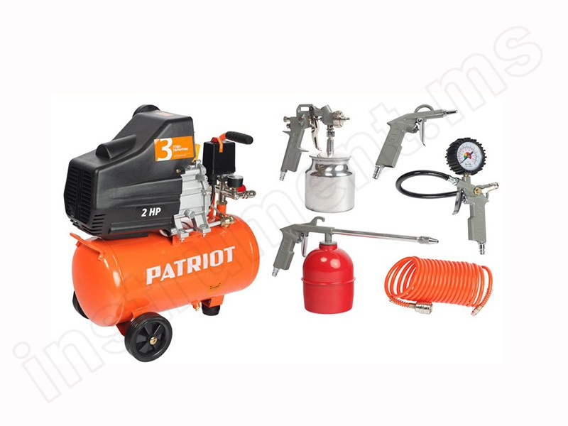 Компрессор Patriot Euro 24/240K KIT 5B