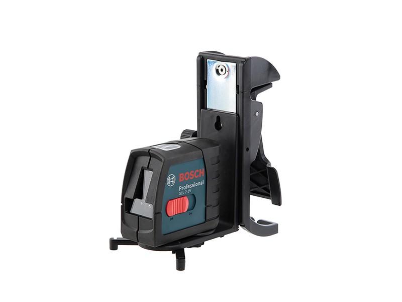 Нивелир лазерный с держателем Bosch GLL 2-15 Рrof, BM3