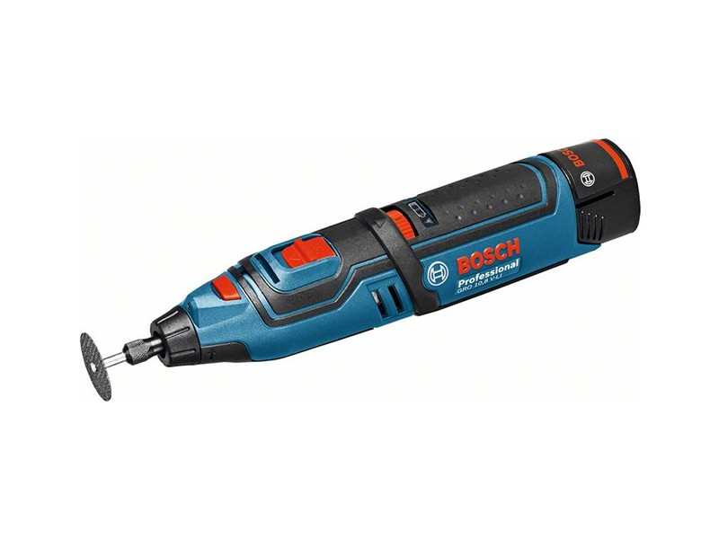 Аккумуляторная шлифмашина прямая Bosch GRO 10,8 V-Li Solo