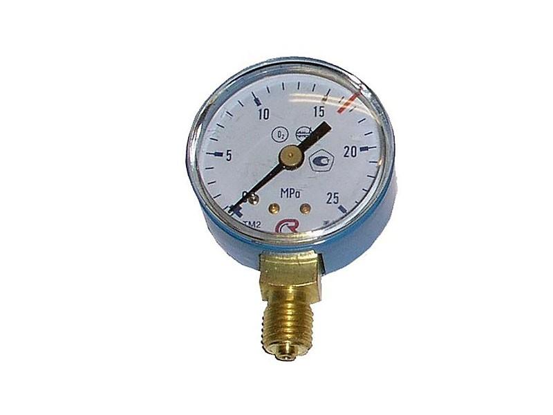 Манометр кислородный  25 МПа