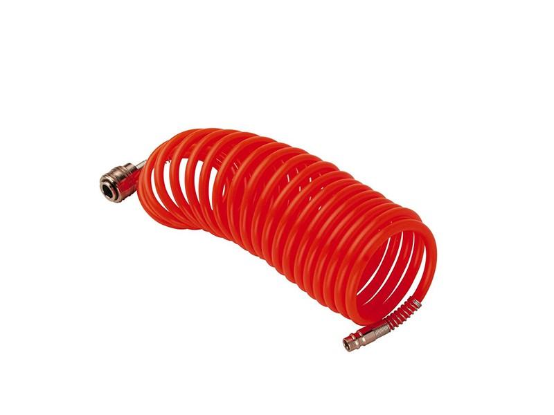 Шланг спиральный, нейлон, 6х8мм, 10бар, 5м Fubag