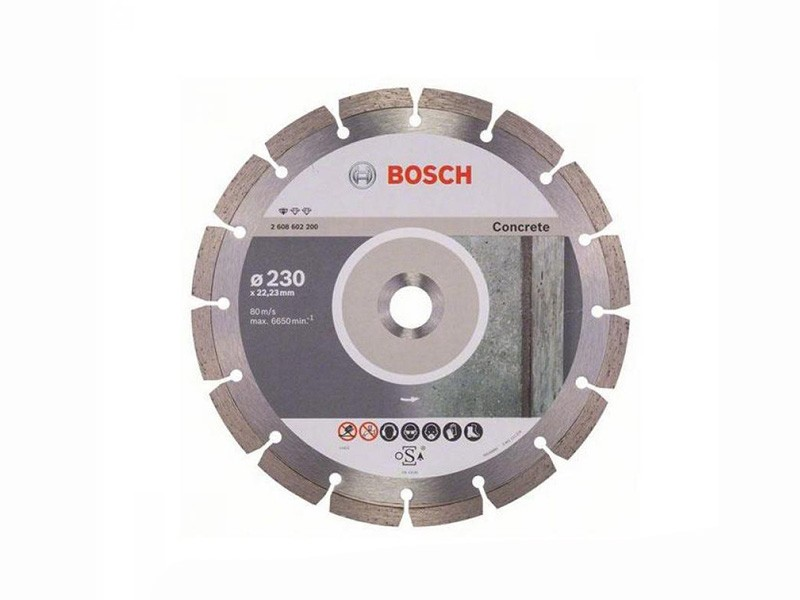 Алмазный диск Standard for Concrete Bosch d=230х10х22,2мм