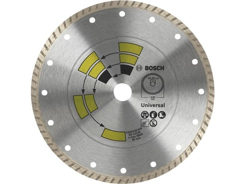 Алмазный диск Expert for Universal Turbo Bosch d=125х12х22,2мм