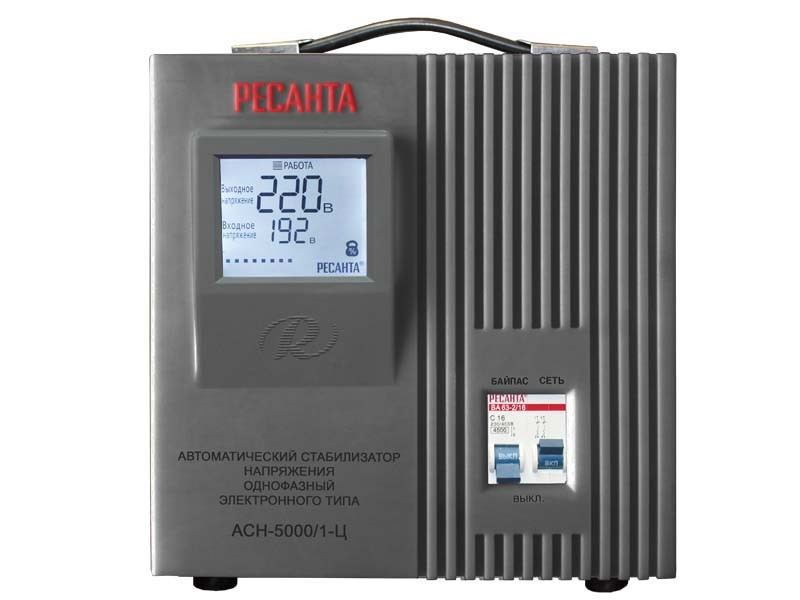 Стабилизатор напряжения Ресанта ACH-5000/1-Ц