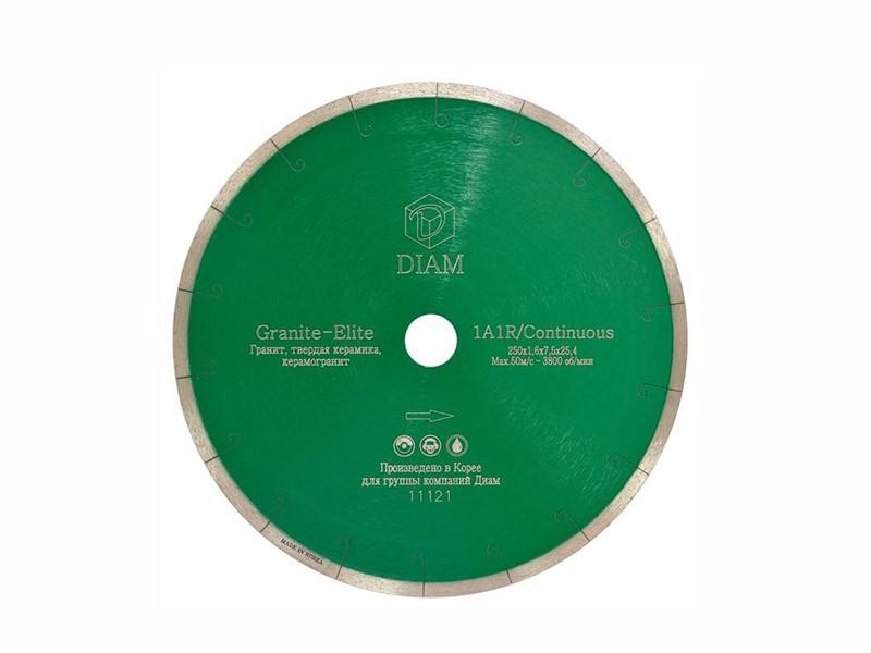 Алмазный диск GRANITE-ELITE Diam d=250х7,5х25,4мм