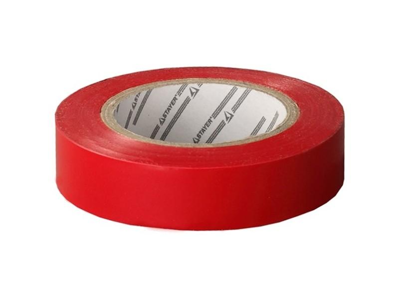 Изолента ПВХ красная 15мм х10м Stayer