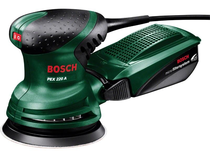 Шлифмашина эксцентриковая Bosch PEX 220 A