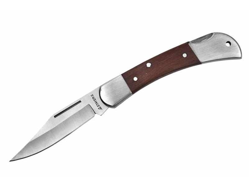 Нож перочинный с деревянными вставками Stayer