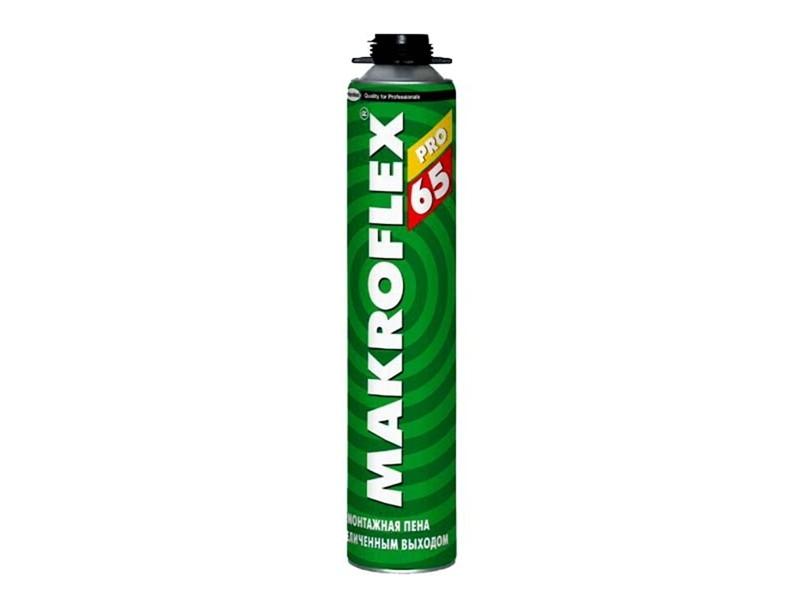 Пена монтажная 850 мл Makroflex PRO 65