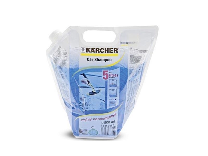 Автошампунь концентрированный 0,5л Karcher 6.295-386
