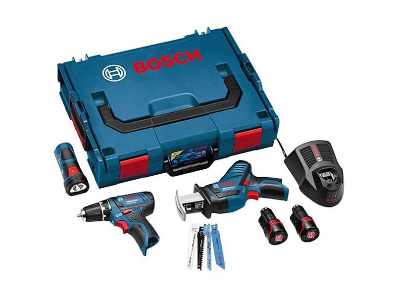 Набор аккумуляторных инструментов Bosch GSA, GSR, GLI