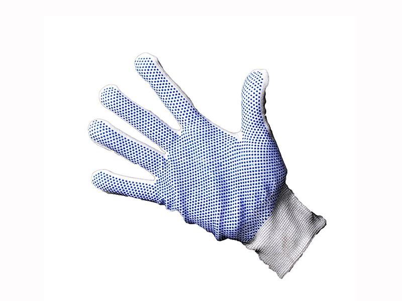 Перчатки нейлоновые с ПВХ размер 9-11 Россия