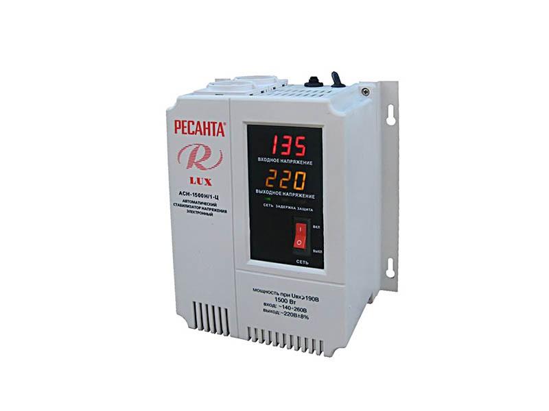 Стабилизатор напряжения Ресанта ACH-1500Н/1-Ц