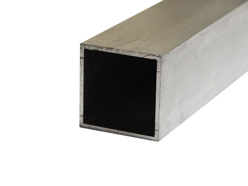 Труба квадратная алюминиевая 25х25х1,5 2,0м Россия