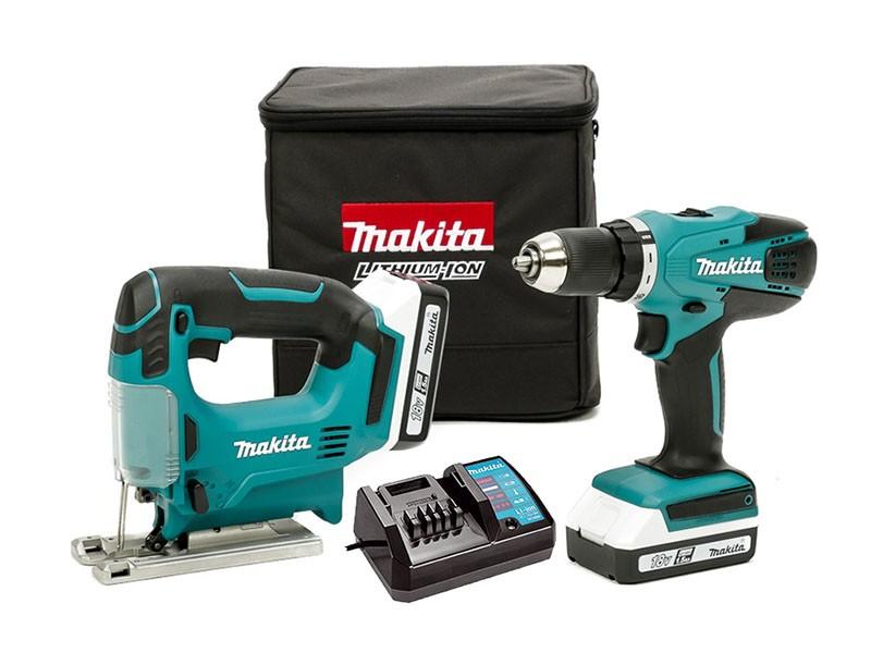 Набор аккумуляторных инструментов Makita DK18298 X1