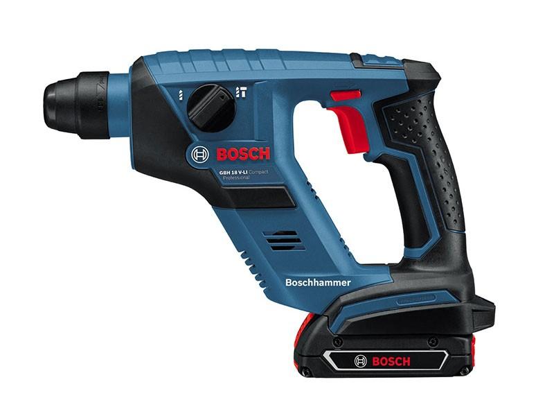Перфоратор аккумуляторный Bosch GBH 18 V-Li Solo