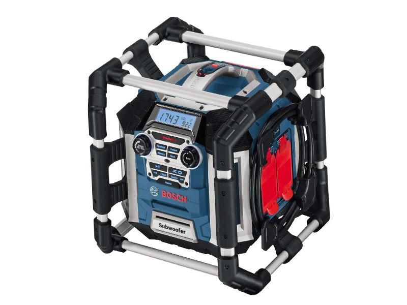 Радио с Зарядным устройством Bosch GML 50 Power box