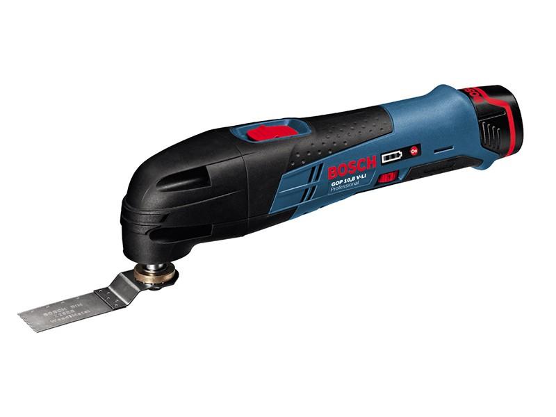 Аккумуляторный универсальный резак Bosch GOP 10,8 V-Li Solo