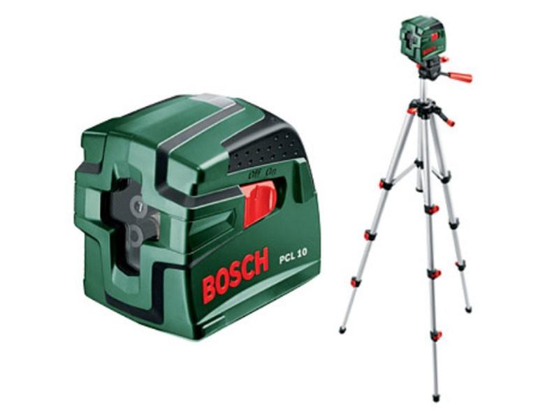 Нивелир лазерный со штативом Bosch PCL 10 Set