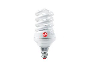 Лампа КЛЛ 25W E27 2700К тёплый свет Экономка Трубка T3