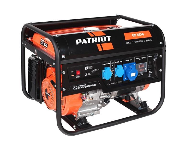 Электростанция PATRIOT GP 6510