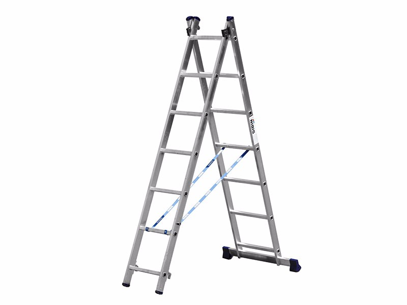 Лестница двухсекционная Сибин 2х7
