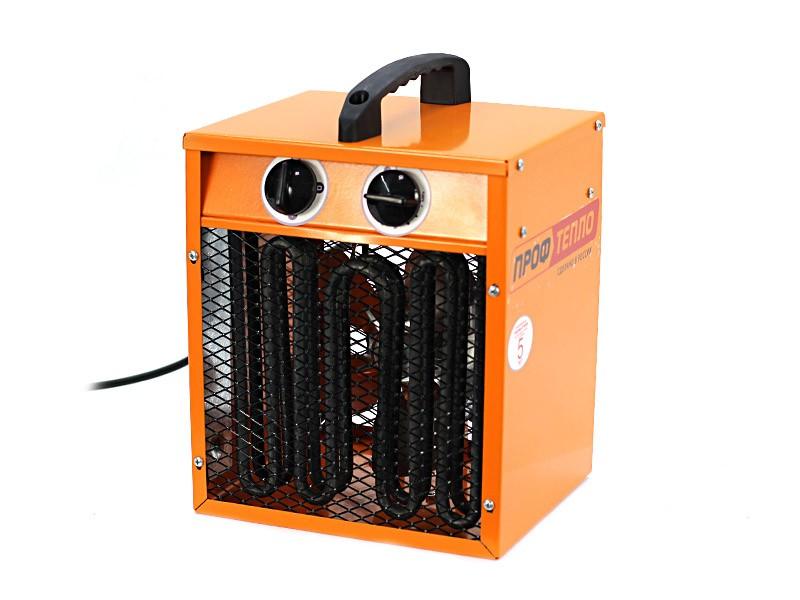 Тепловентилятор Профтепло ТТ-2ТК апельсин