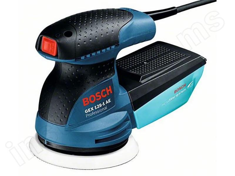 Шлифмашина эксцентриковая Bosch GEX 125-1 AЕ
