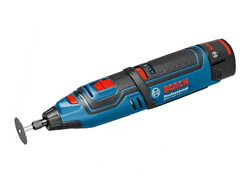 Аккумуляторная шлифмашина прямая Bosch GRO 10,8 V-Li