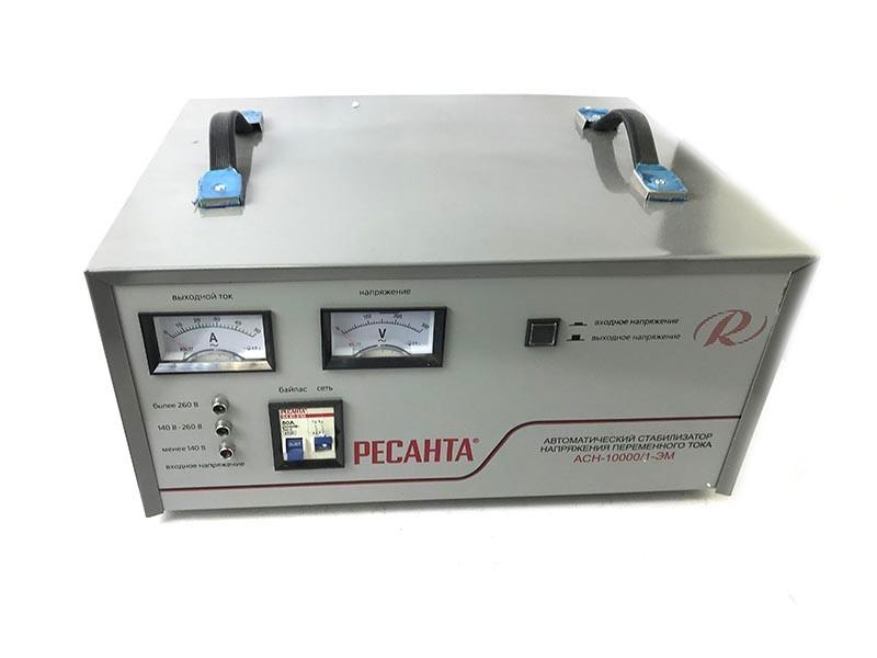 Уценка Стабилизатор напряжения Ресанта АСН-10000/1-ЭМ