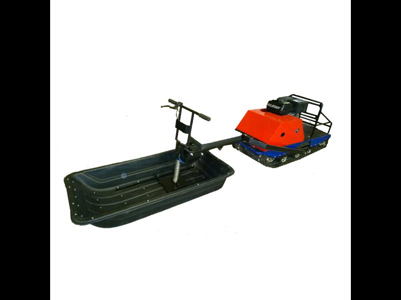 Лыжный модуль/толкач для мотобуксировщика Север Трансформер