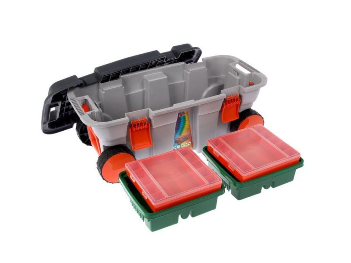 Ящик для инструмента на колёсах 800х370х340 Атака С-2