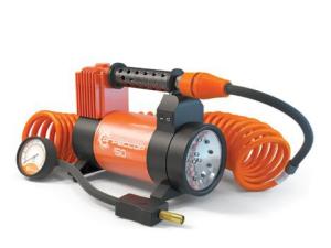 Компрессор автомобильный 12V, 50л/мин, фонарь Autoprofi AGR-50L