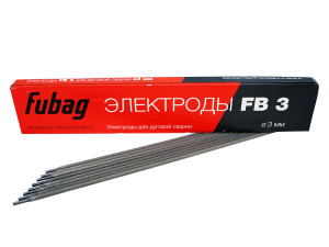 Электроды сварочные Fubag FB 3 D3.0 мм 0,9 кг