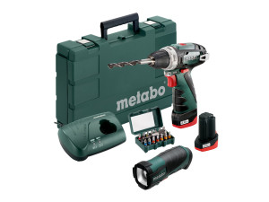 Аккумуляторный шуруповерт Metabo PowerMaxx BS Basic