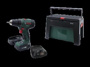 Аккумуляторный шуруповерт Bosch PSR 1440 LI-2 + WorkBox
