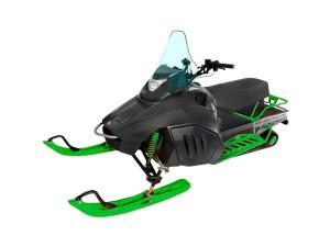 Снегоход, зеленый IRBIS TUNGUS SK400