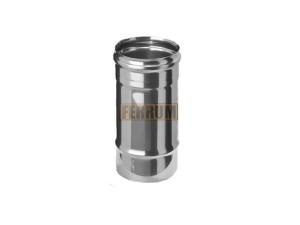 Дымоход 0,25м, 430/0,5 мм, Ф120 Ferrum