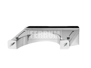 Кронштейн раздвижной №1, 430/1,0 мм, Ф150 Ferrum