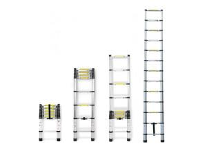 Лестница телескопическая односекционная Алюмет 1х13
