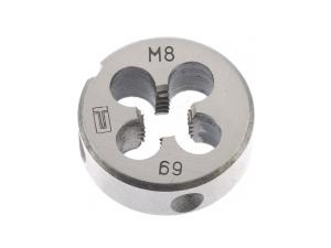 Плашка M 8 х 1,25мм Сибртех